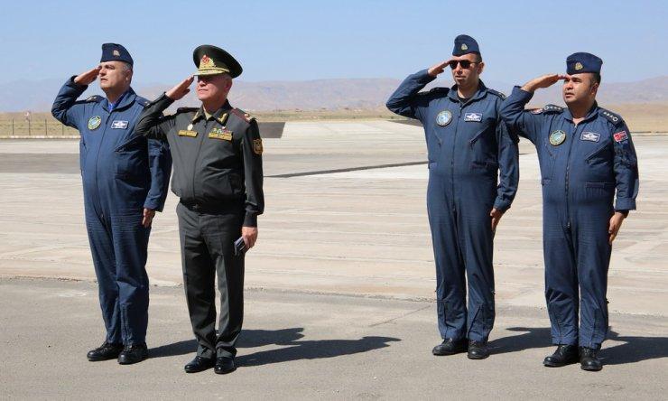 Türk askeri, Azerbaycan ortak tatbikatı için Nahçıvan'da