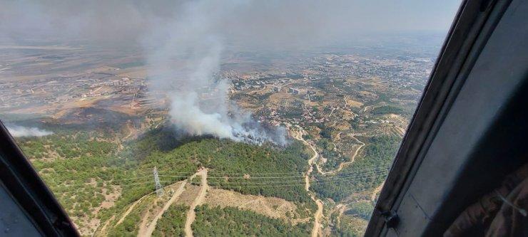 Amanoslar'da orman yangını