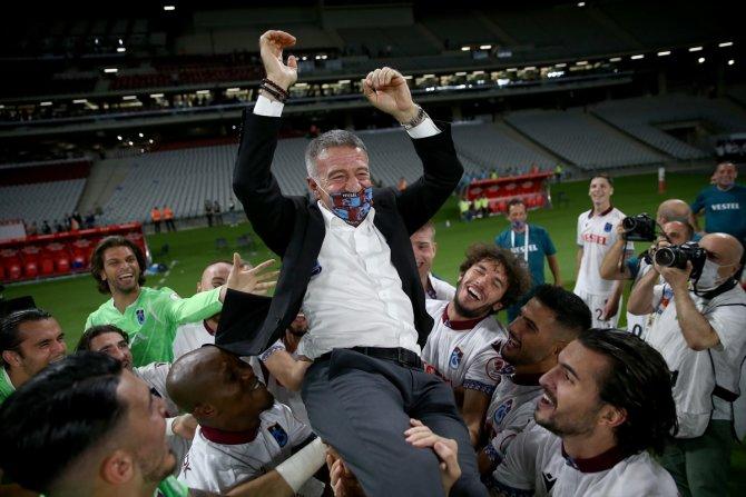 Trabzonspor, kupasını aldı