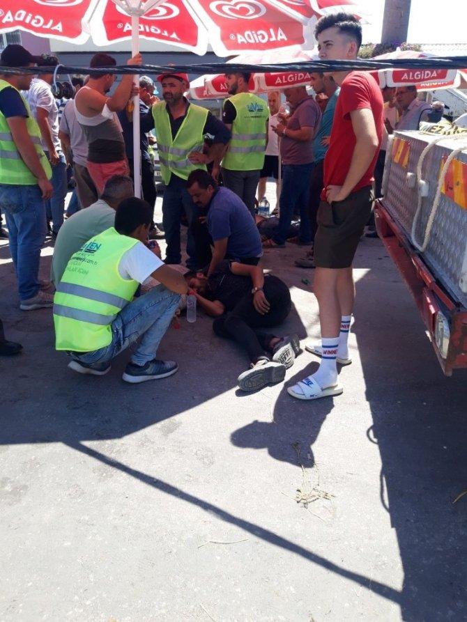 İşçiler vinç sepetinden düştü: 1 ölü, 1 ağır yaralı