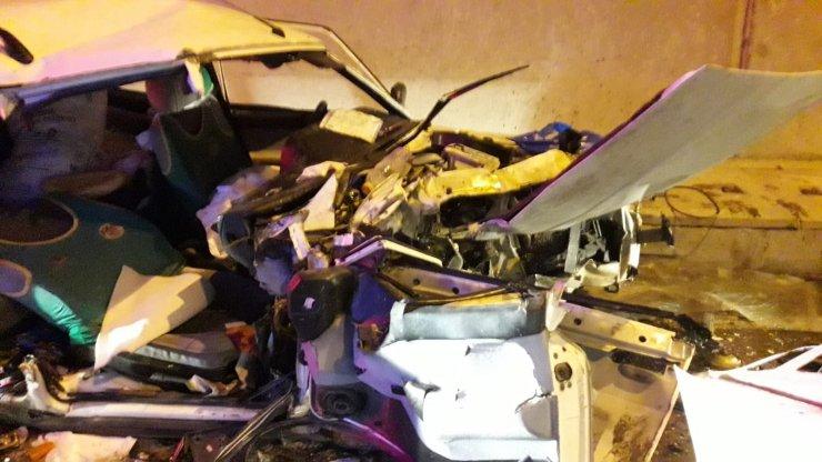 Tüneldeki kazada yaralı kadın öldü, sürücü tutuklandı