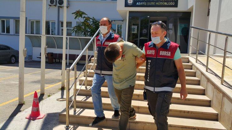 Konteynerı ikinci kez çalan hırsız, tutuklandı