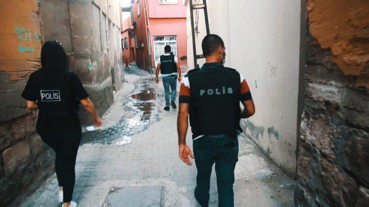 Siirt'te 243 personelle 6 mahalleye uyuşturucu operasyonu