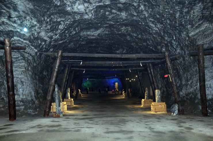 Çankırı'da 5 bin yıllık tuz mağarası yeniden ziyarete açıldı