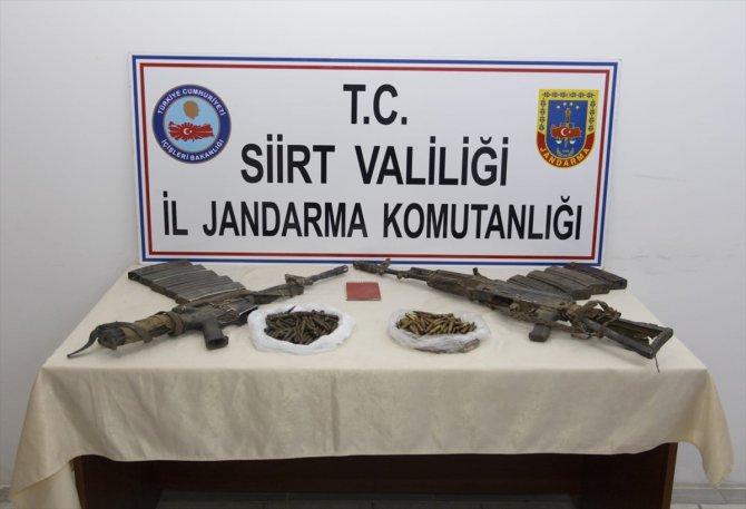 2 teröristin etkisiz hale getirildiği bölgede silah ve mühimmat ele geçirildi