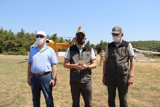 Bakan Pakdemirli açıkladı: Menderes'teki yangınla ilgili bir gözaltı