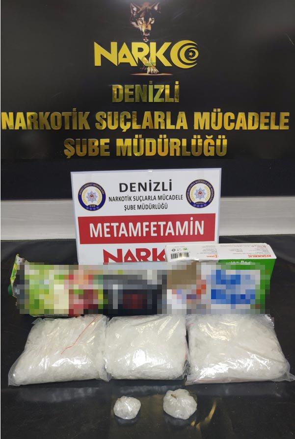 Denizli'deki uyuşturucu operasyonuna 15 tutuklama