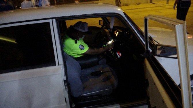 160 promil alkollü sürücü huzur uygulamasına takıldı