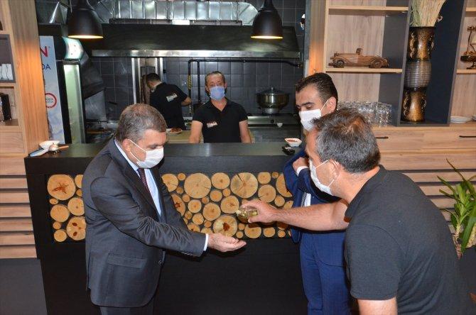 Karaman'da Kovid-19 tedbirleri denetimi