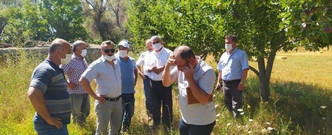 KOSKİ Genel Müdürü Demir, Kızılca Göletinde incelemelerde bulundu
