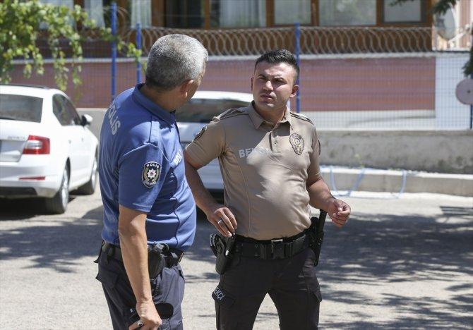 Bekçi babanın polis oğlu ile bekçi yeğeni aynı karakolda