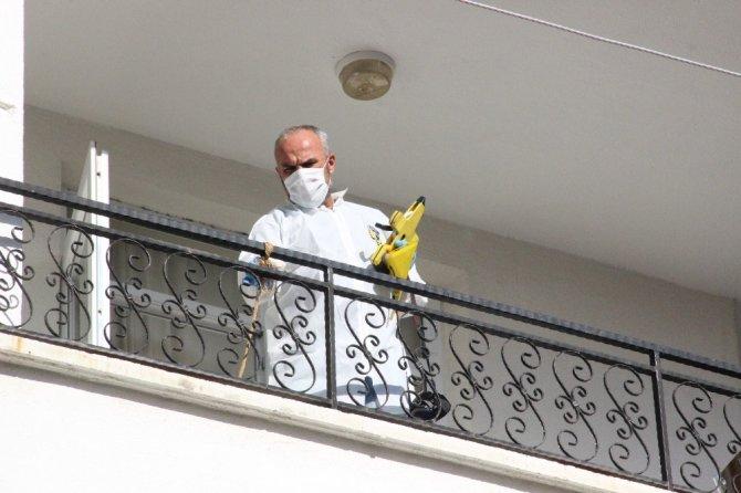 Tansiyonu düşen kadın üçüncü katın balkonundan düştü