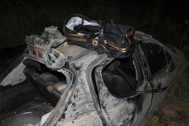 Otomobil 150 metrelik uçurumdan yuvarlandı: 6 yaralı