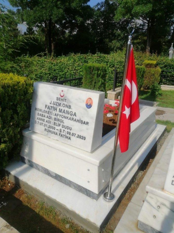 Afyonkarahisar'da 100 şehit mezarı 60 günde yenilenecek