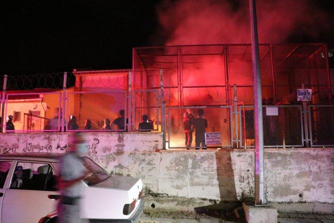 Denizli'de trafo merkezinde çıkan yangın hasara yol açtı