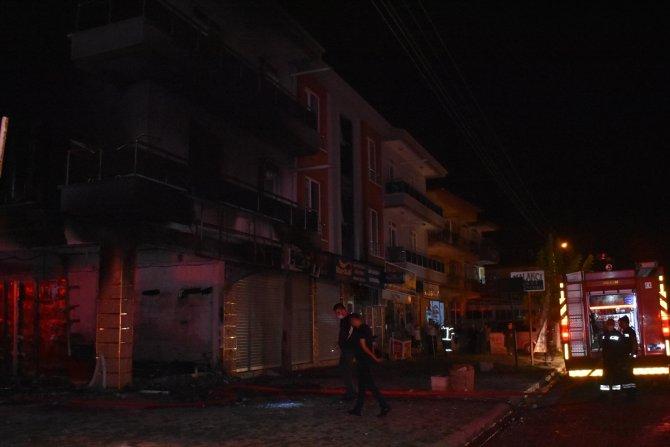 Afyonkarahisar'da iş yeri yangını söndürüldü
