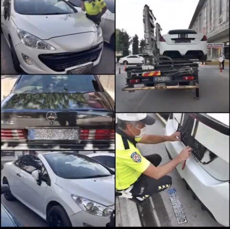 Konya 2 bin sürücüye 1 milyon TL para cezası