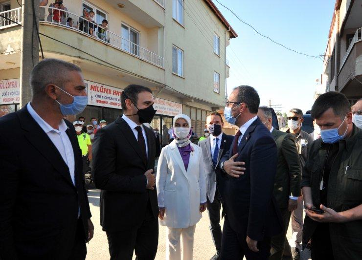 Bakan Kasapoğlu ve Bilal Erdoğan, 4'üncü Dünya Göçebe Oyunları'nın yapılacağı alanı inceledi