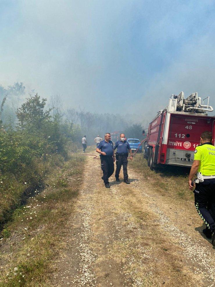 Düzce'de 4 hektar ormanlık alan yandı