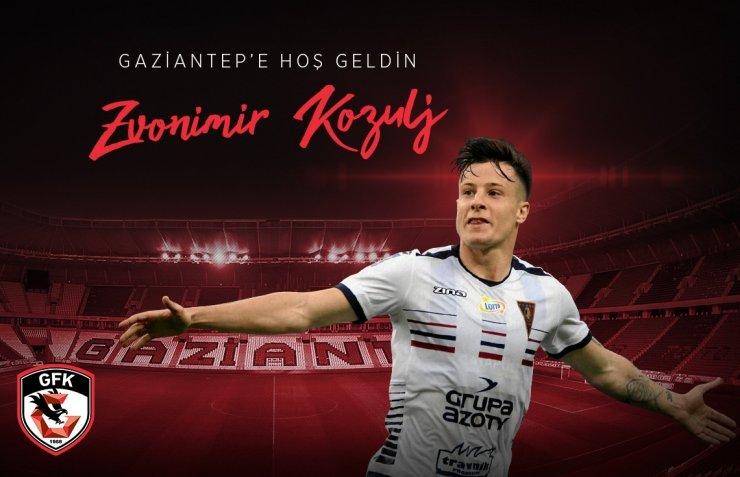 Gaziantep FK, Bosnalı Zvonimir Kozulj ile anlaştı
