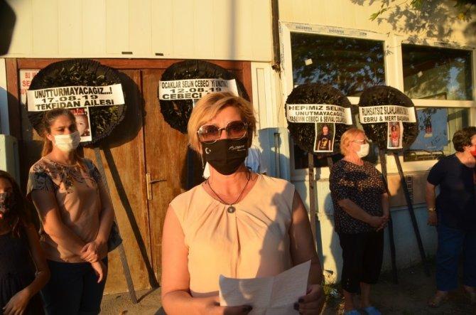 Gazinoda öldürülen Selin unutulmadı
