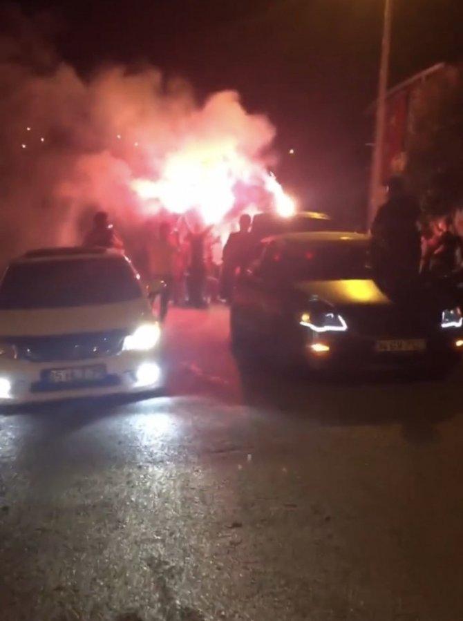 İstanbul'da asker uğurlamalarında dehşete düşüren anlar