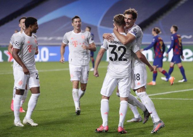 Bayern Münih'den Barcelona'ya tarihi fark: 8-2