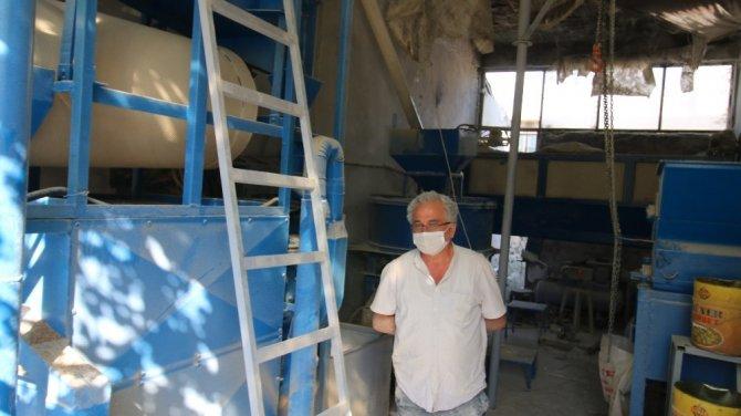 Konya'da babadan oğula taş değirmeni geleneği devam ediyor