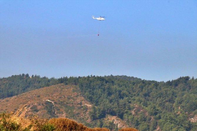 Hatay'daki orman yangını 5 gündür sürüyor