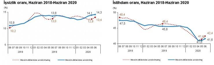 TÜİK-İşsizlik Haziran döneminde yüzde 13.4'e yükseldi (2)
