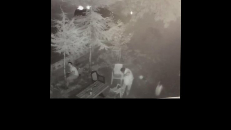 Kahvehanedeki çifte cinayet kamerada
