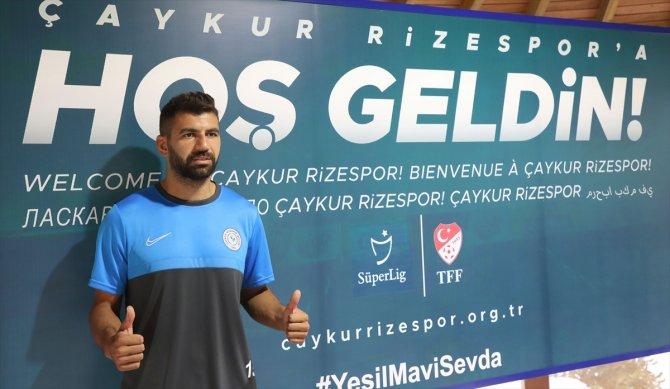 """Çaykur Rizesporlu Selim Ay: """"Terimin son damlasına kadar mücadele edeceğim"""""""
