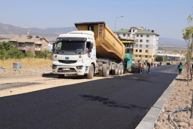 Büyükşehir'den Seydişehir'de asfalt çalışması