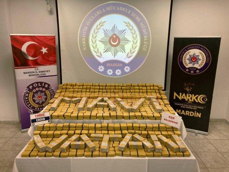 Bakan Soylu: Son 1 haftada, 1 ton 66 kilogram eroin ele geçirildi