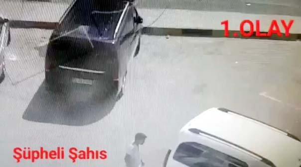 11 hırsızlık olayının kameradan belirlenen şüphelisi yakalandı