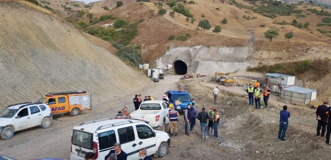 Kop tünelinde patlama: 11 yaralı