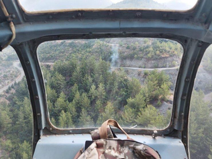 Hatay'da ormanı 8 noktadan ateşe veren şüpheli tutuklandı
