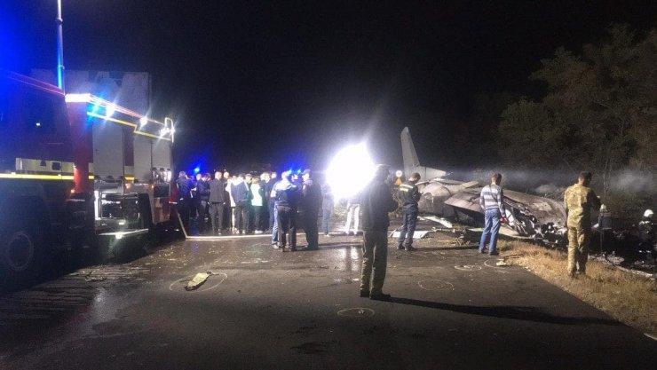 Ukrayna'da uçak kazasında ölenlerin sayısı 25'e yükseldi