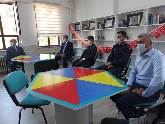 Şehit Burak Aydoğan'ın ismi kütüphanede yaşatılacak