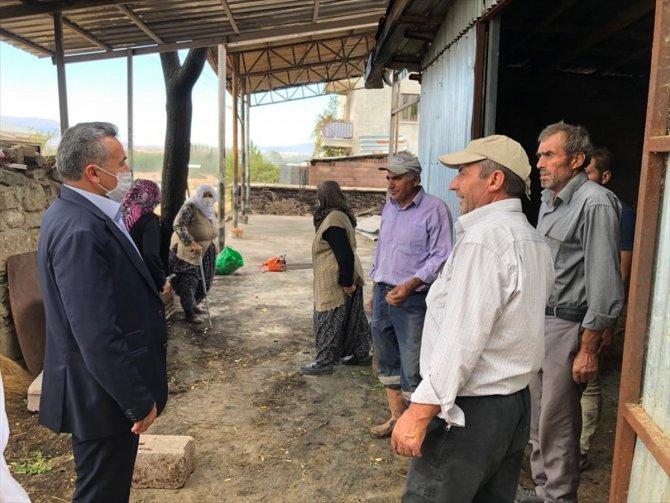 Seydişehir Belediye Başkanı Tutal'dan geçmiş olsun ziyareti