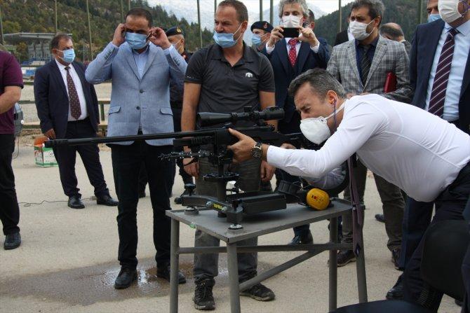 AK Parti'li Altunyaldız, Huğlu Av Tüfekleri Kooperatifinde incelemelerde bulundu