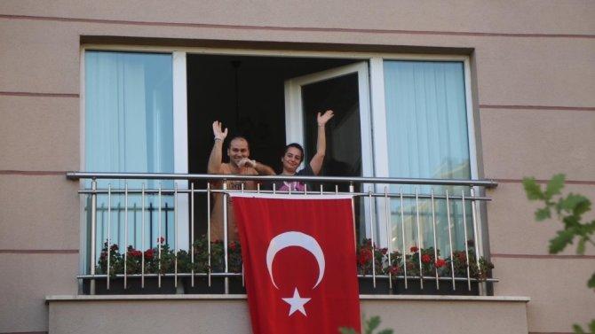 Cumhuriyet 97'inci yılına coşkulu kutlama