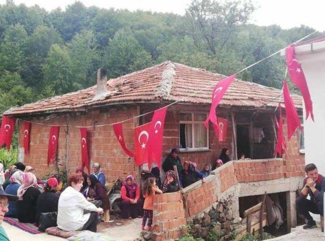Ordulu şehidin baba ocağı 3 ayda yeniden inşa edildi