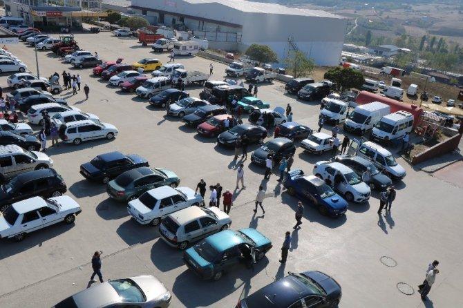 Samsun'da motorlu kara taşıtı bir yılda 16 bin 401 adet arttı
