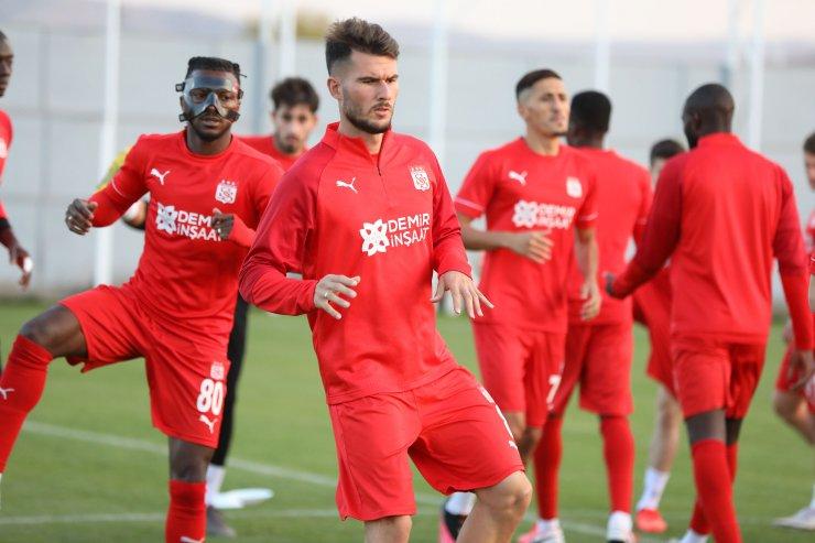 Sivasspor, Maccabi Tel Aviv hazırlıklarını tamamladı
