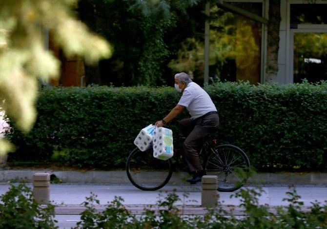 Hem ekonomik hem sağlıklı ulaşım aracı bisiklet Konya'da rağbet görüyor
