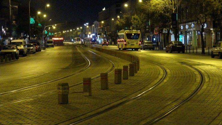 Konya'da sokağa çıkma kısıtlaması başladı