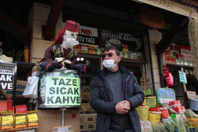 """Konya'da """"Kovid-19"""" denetimleri sürüyor"""