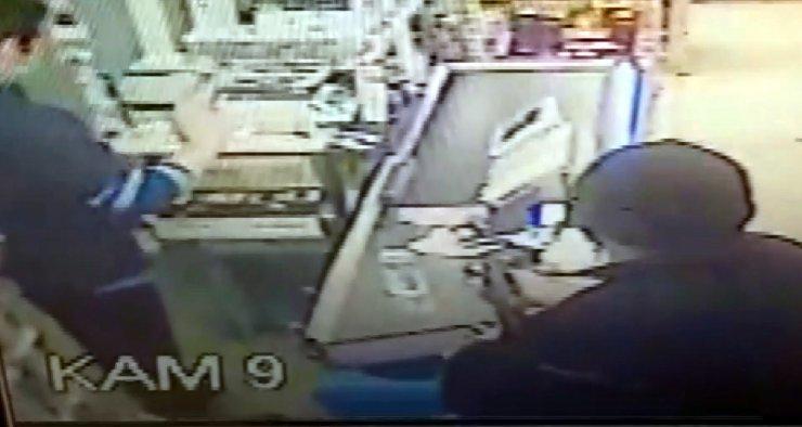 Pompalı tüfekle market soyan şüpheli yakalandı