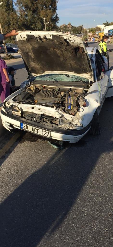 16 yaşındaki sürücünün kontrolünden çıkan otomobil takla attı: 1 ölü, 2 yaralı